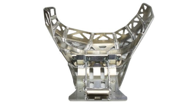 Skid plate with pipe guard for KTM EXC Husqvarna TE 2017-2019