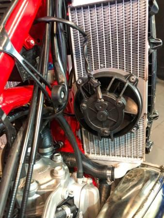 Complete Radiator Fan Kit for 2/4 STROKE TPI KTM Husqvarna GAS GAS 17-22